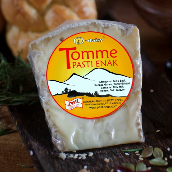 Tomme packed